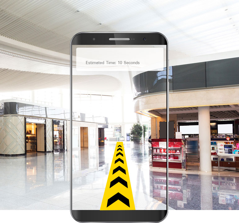 AR Way Finding Solution