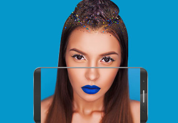 Try-on-the-makeup-with-different-lipstick-and-eye-shades-Augmented-Reality-Solution