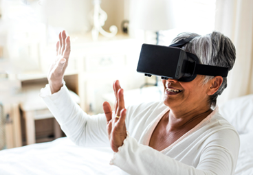 Relaxing patients with Medical VR