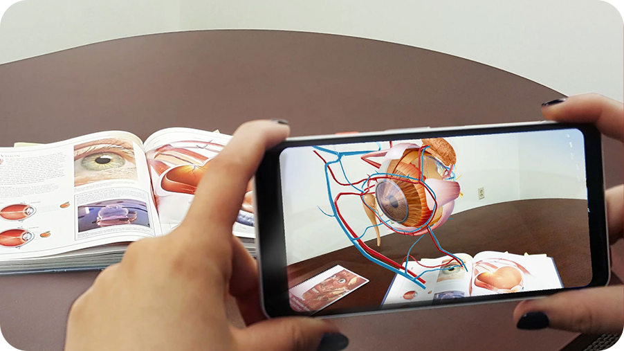 LEARNING now gets better with Augmented Reality